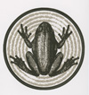 Spring Fed Records Frog Sticker