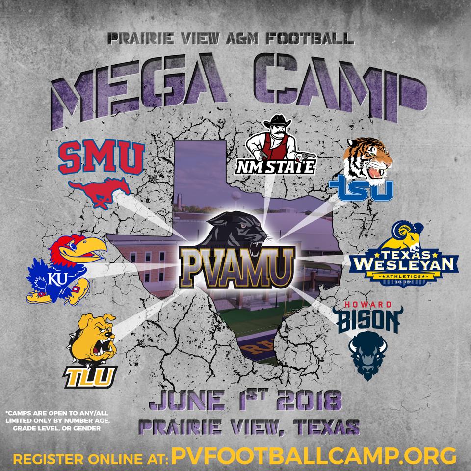 Prairie View A M Football Mega Camp
