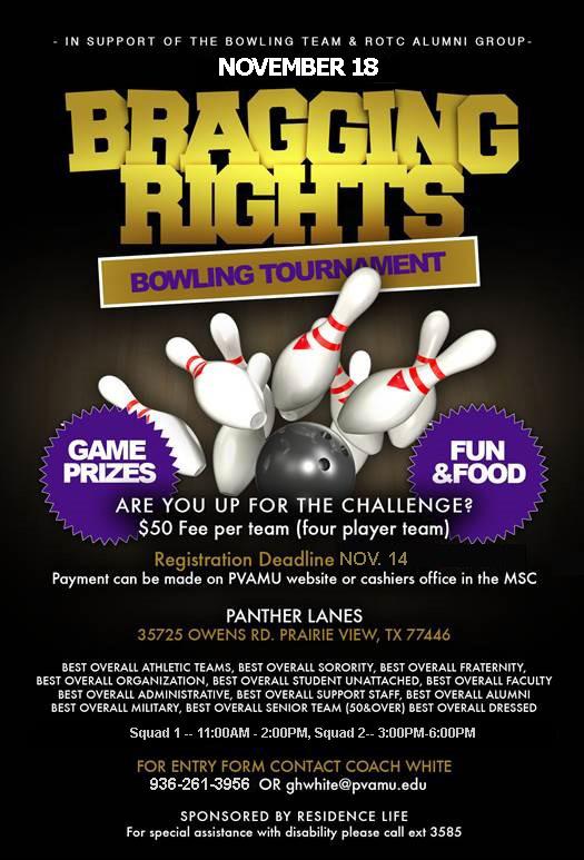 Prairie View Nursing >> Bragging Rights Bowling Tournament