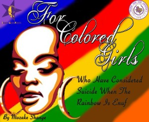 Tickets: for colored girls (Student Admission)