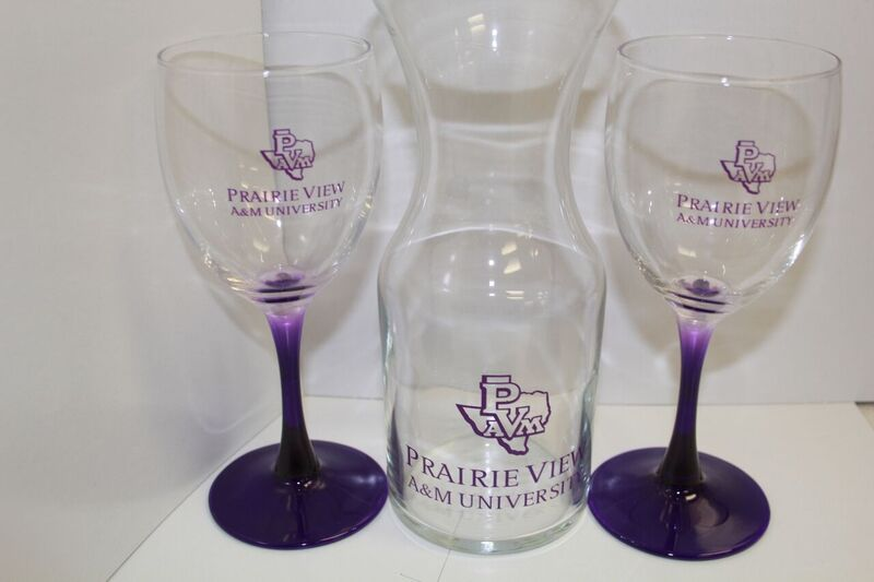 Branded Wine Glass Set