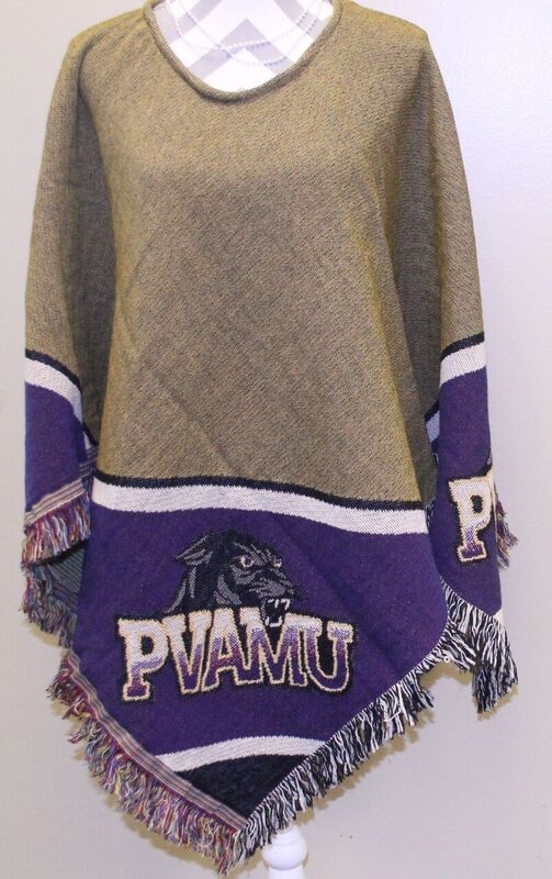 PVAMU Athletics Branded Poncho