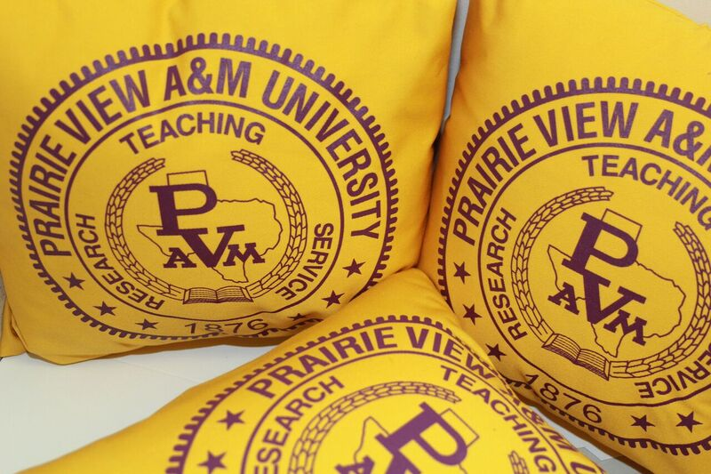 PVAMU Branded Throw Pillow