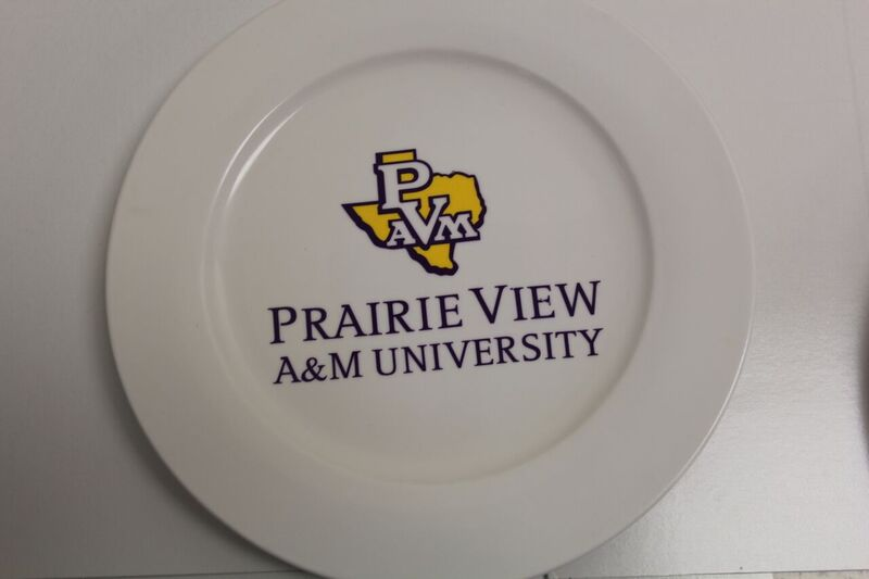 University Logo Display Plate