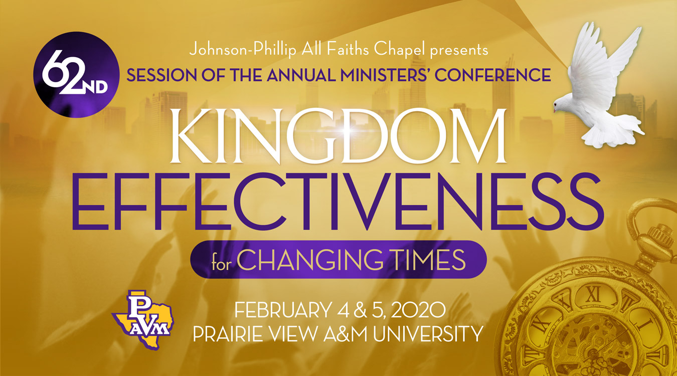 62nd Annual Ministers' Conference Registration