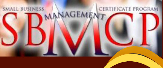 Small Business Management Certificate Program (SBMCP, March 2020 - June 2020)