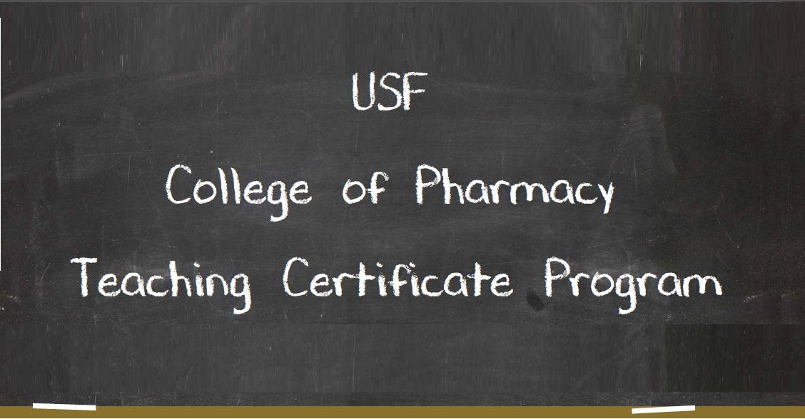Usf College Of Pharmacy Teaching Certificate Program