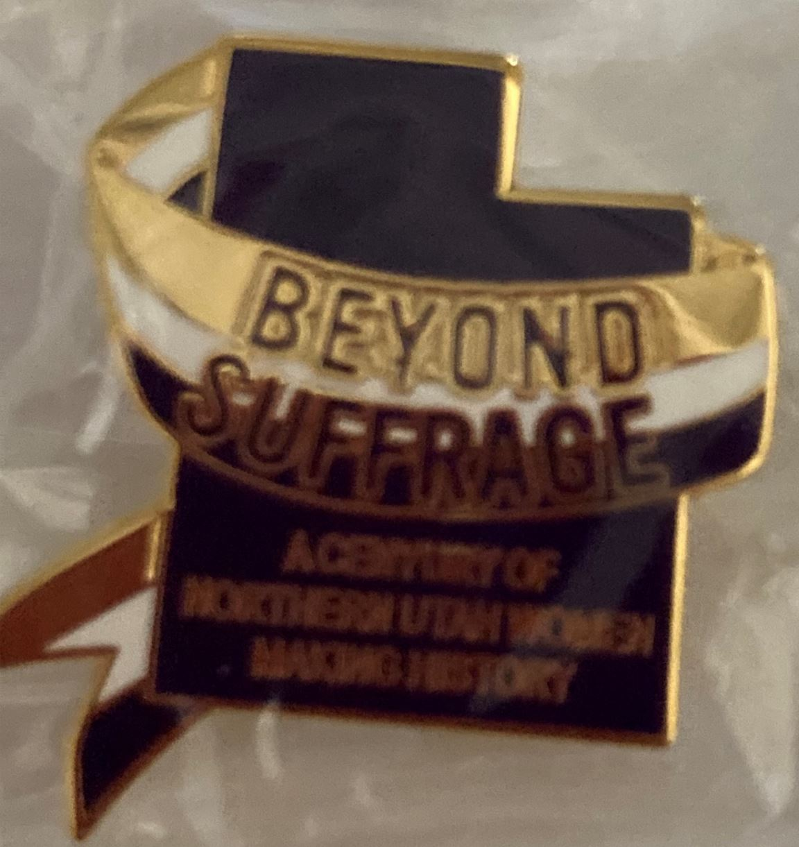 Beyond Suffrage Hat Pin