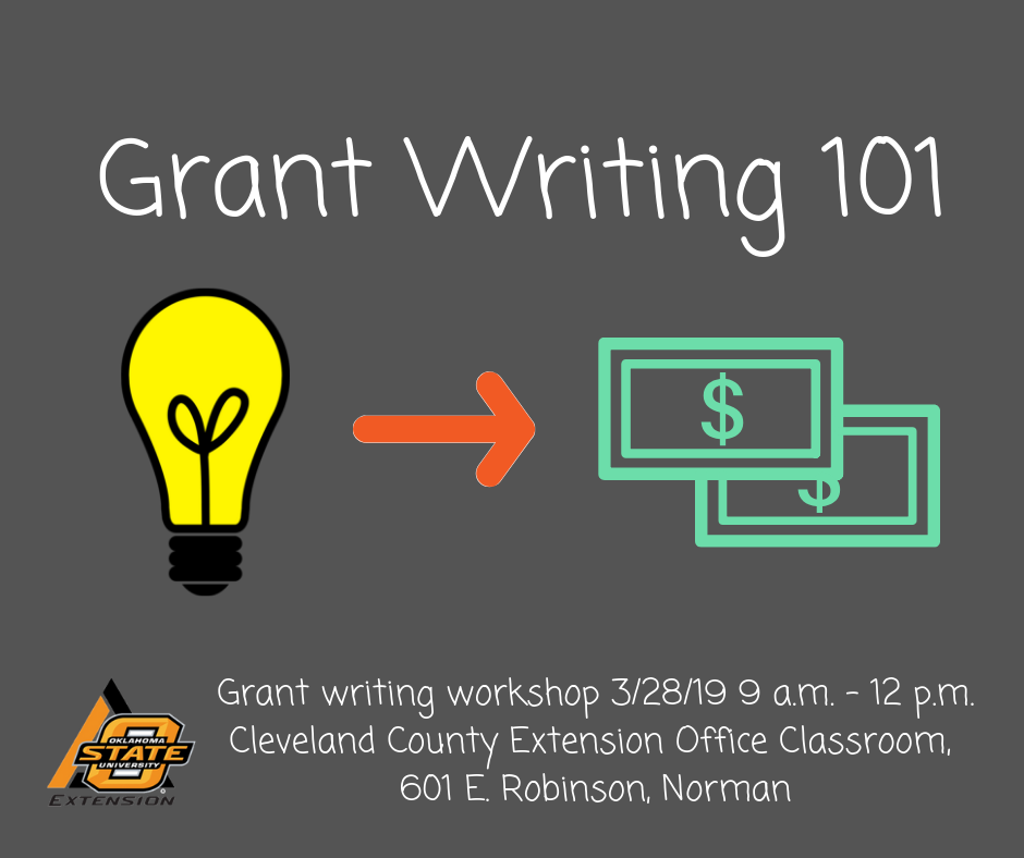 2019 Grant Writing Workshop