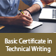 Basic Certificate in Technical Writing - Online