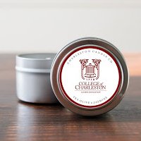 CofC Tea Olive & Jasmine Candle by Charleston Candle Co. 4 oz.