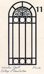 Window Grill Gate Print