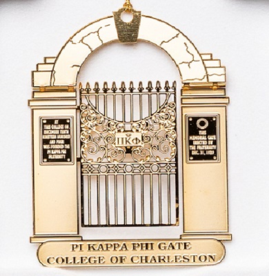 2004 Pi Kappa Phi Gate Ornament