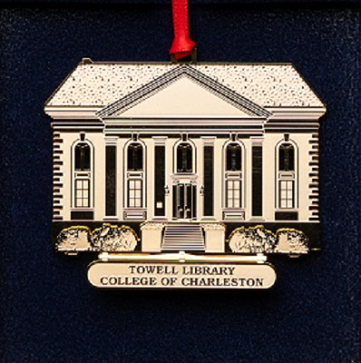 2001 Towell Library Ornament