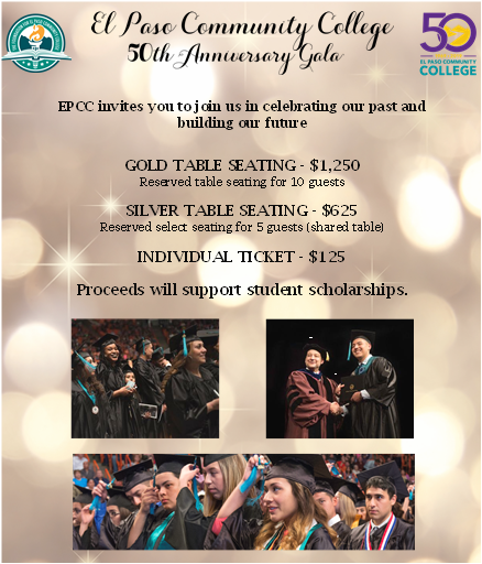 EPCC 50th Gala - Tickets & Table Opportunities