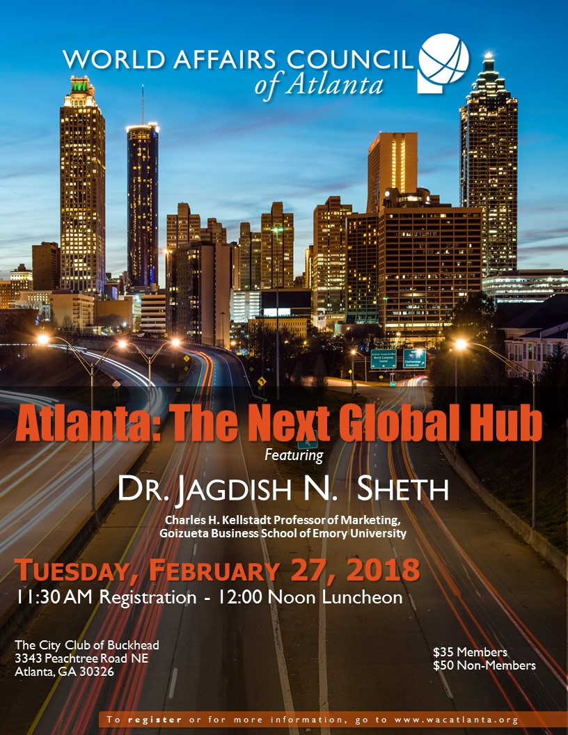 2018 Atlanta: The Next Global Hub