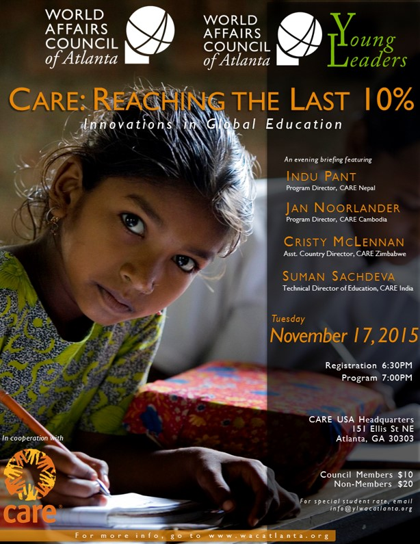 2015 CARE Education Evening Briefing