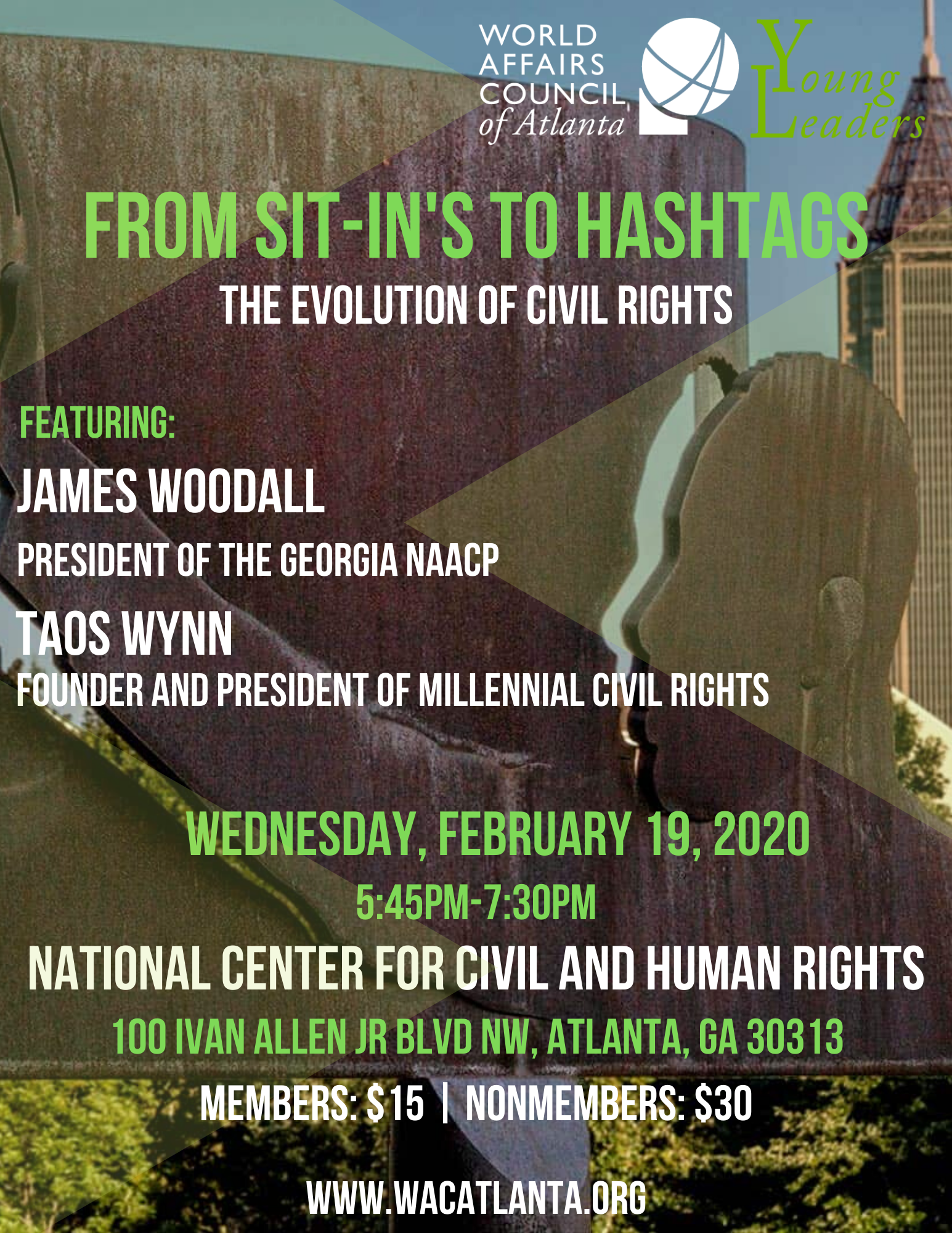 2020 From Sit-in's to Hashtags, The Evolution of Civil Rights