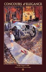 MBH Concours Vintage Poster 1990