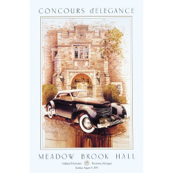 MBH Concours Vintage Poster 1991