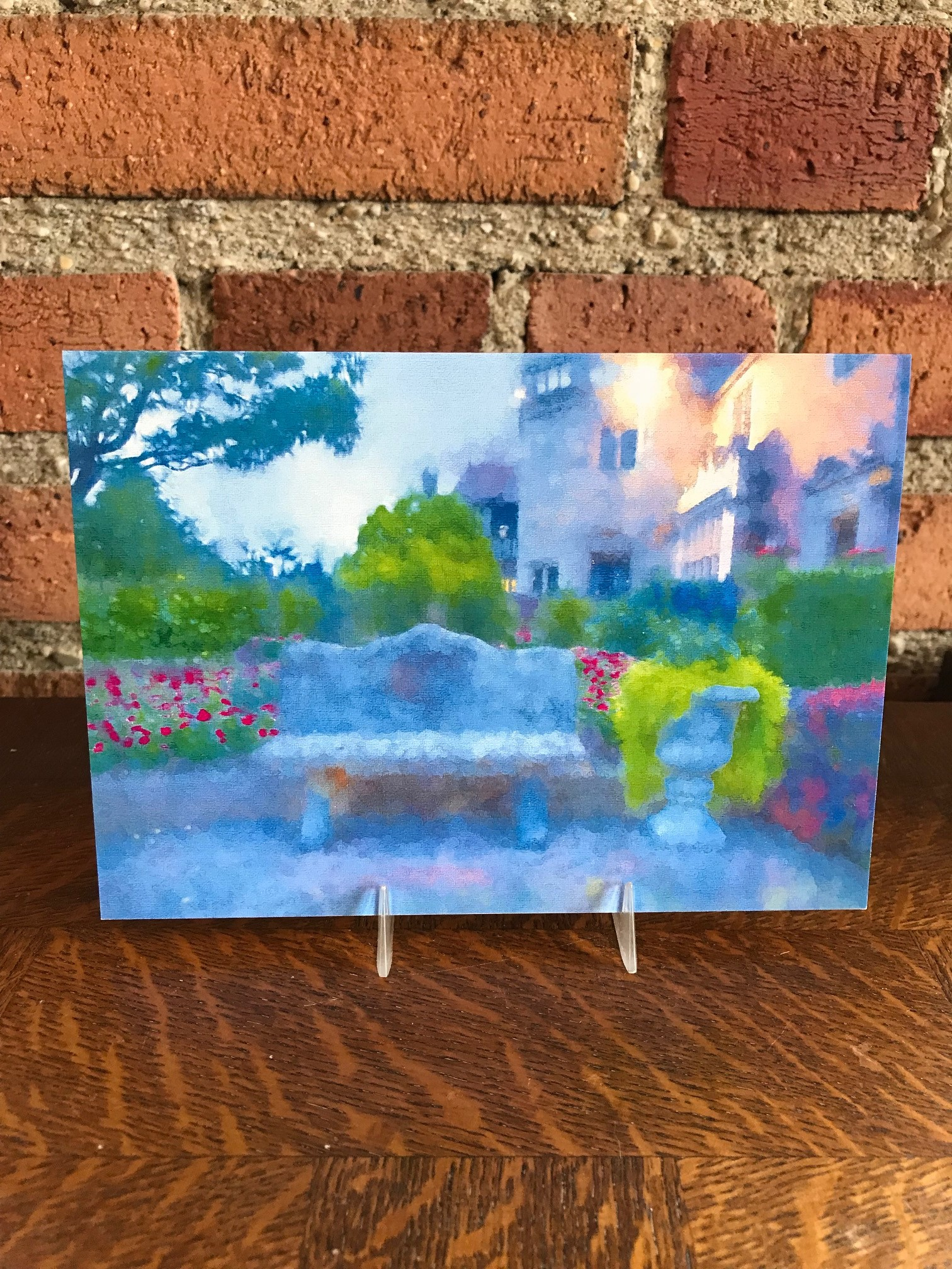 Notecard: Garden Bench