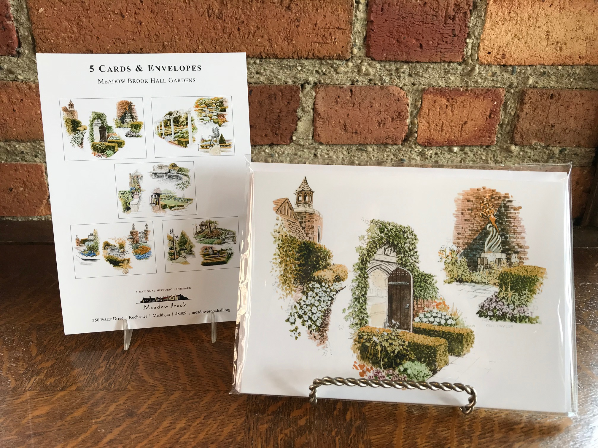 Notecard Set: Garden