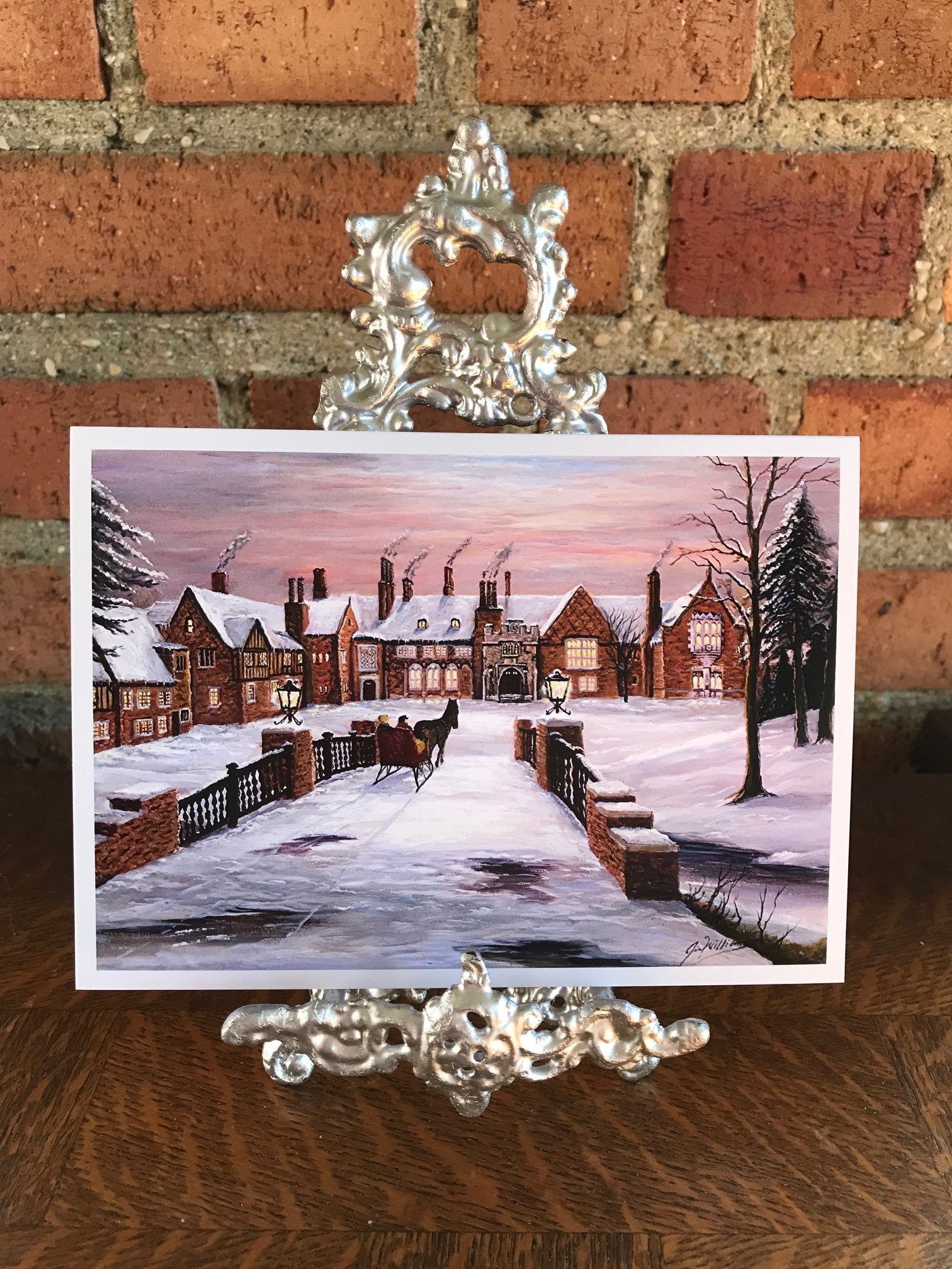 Notecard: Winter Scene