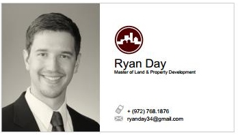 Master of land property development business cards reheart Image collections