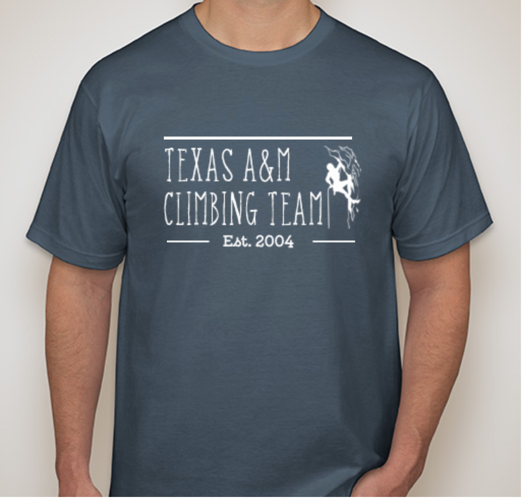 Texas A&M Climbing Team PR Shirts