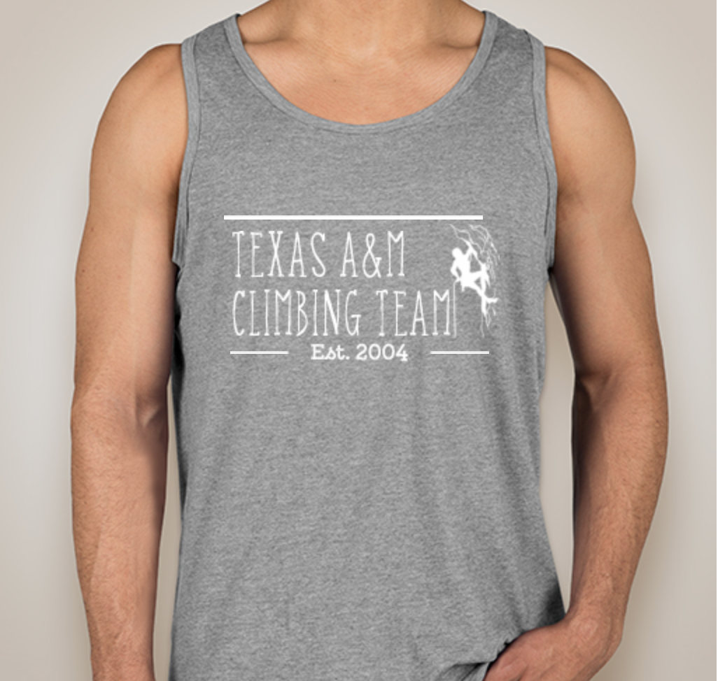 Texas A&M Climbing Team PR Tanks