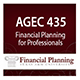 AGEC 435 Financial Planning for Professionals