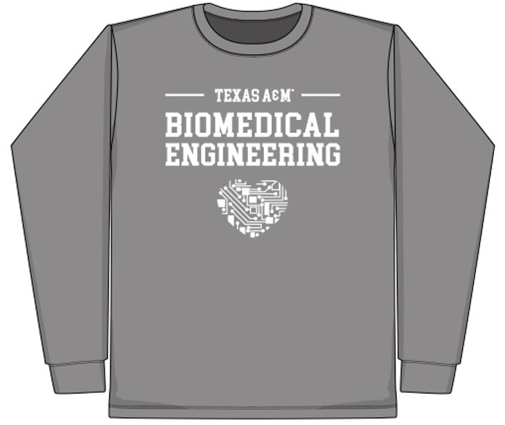 BMEN Long Sleeve Gray Shirt
