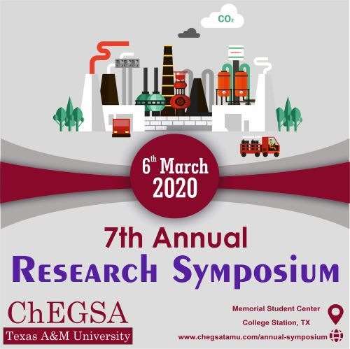 ChEGSA Research Symposium- Registration 2020