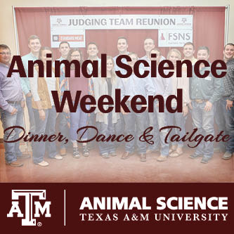 Animal Science Weekend
