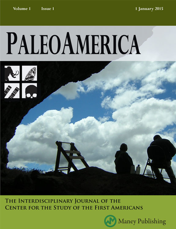 PaleoAmerica Journal - Special Rate for Members