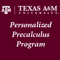 Winter- Personalized Precalculus Program (PPP)