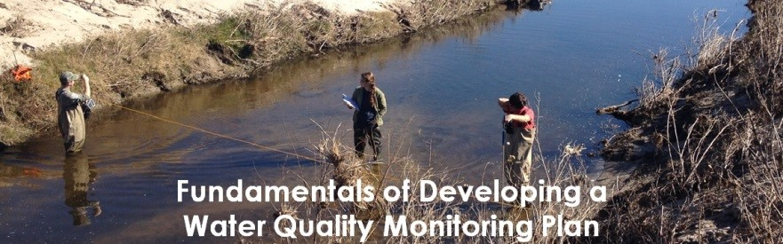 2018 Fundamentals of Developing a Water Quality Monitoring Plan