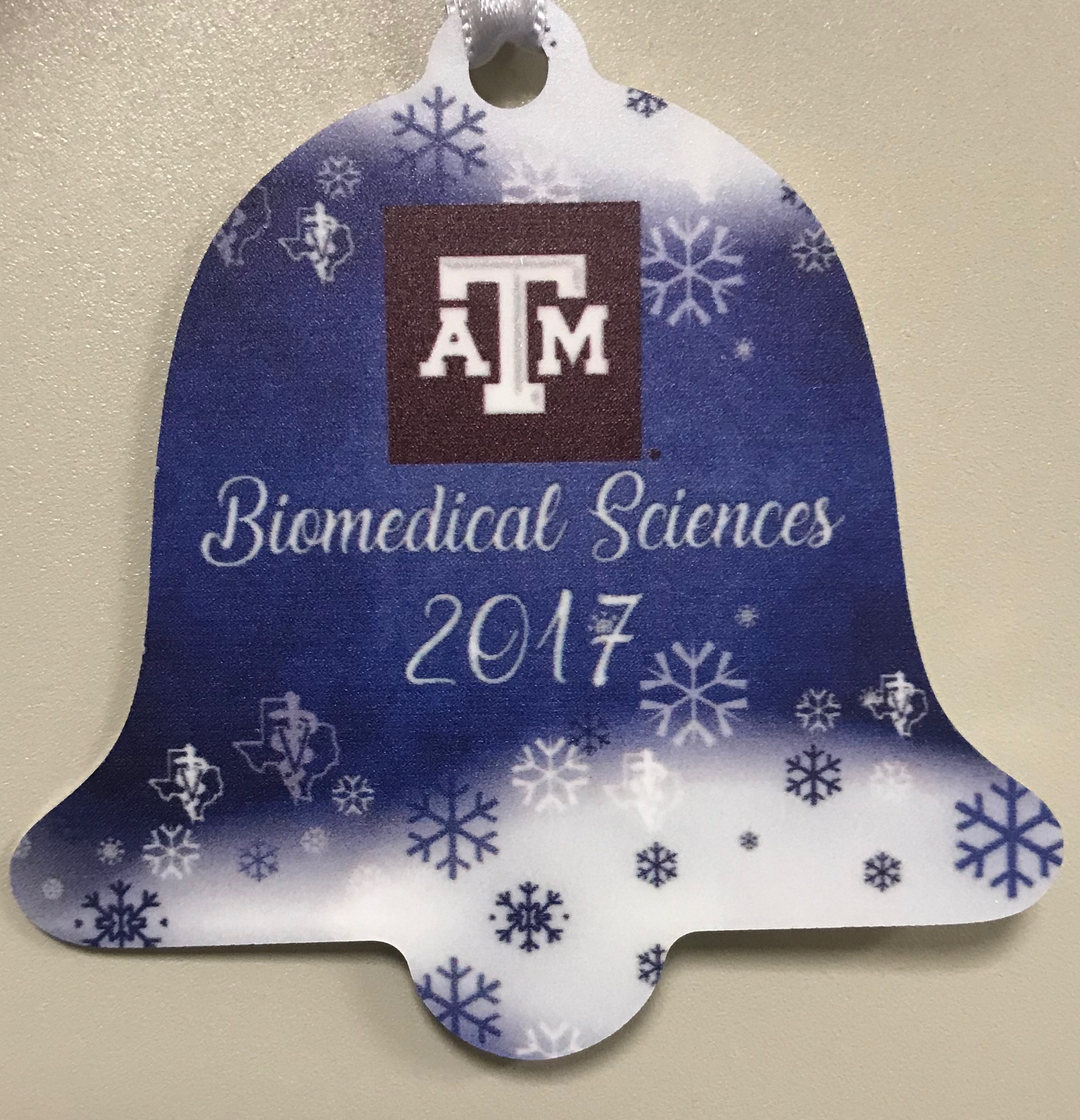 2017 Biomedical Sciences Christmas Ornament