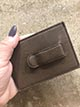 Leather Card Holder & Money Clip
