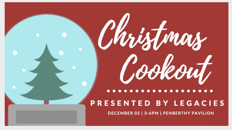 Legacies Christmas Cookout Ticket