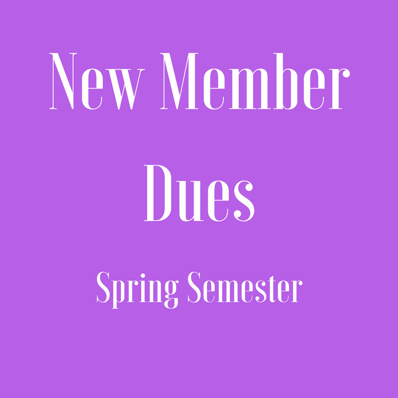 New Member Dues - 2nd installment