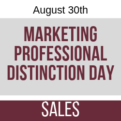 August 2019 Marketing Professional Distinction Day - Sales