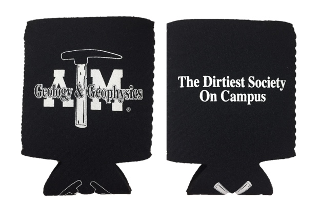 The Dirtiest Society on Campus Koozie
