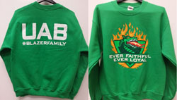 UAB Bands Blazer Family Sweatshirt