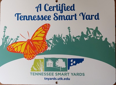 Tennessee Smart Yard Certification Sign