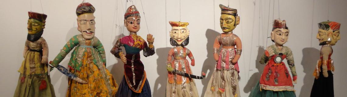 Indian marionettes